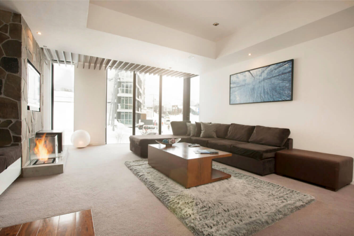 Delighted Private Living Room Contemporary - Beautiful Living Room ...
