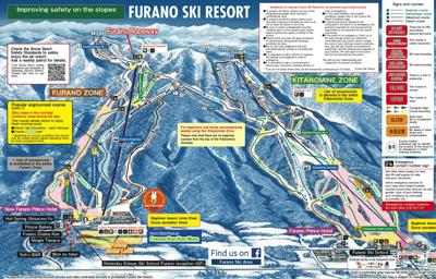 Furano Ski Resort Map