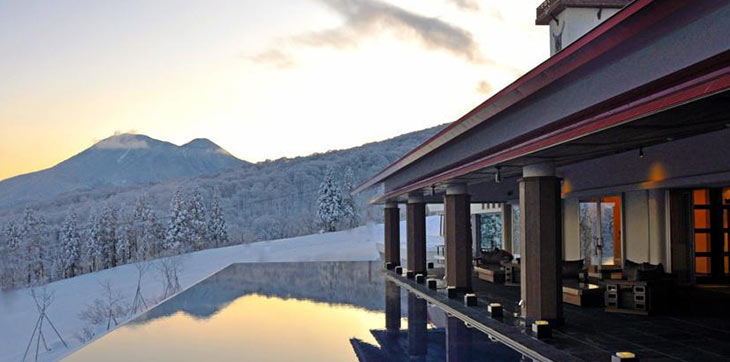 Search Japan's best snow accommodation