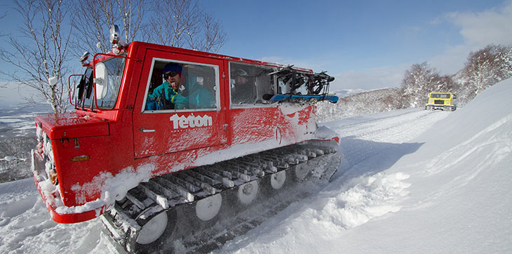 CAT Skiing in Japan