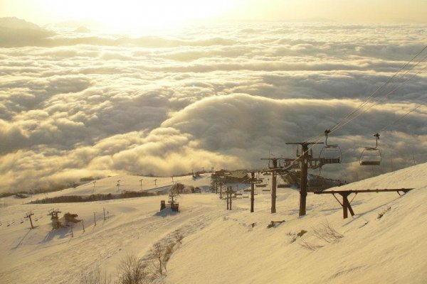 Hakuba Snow Lifts and Terrain