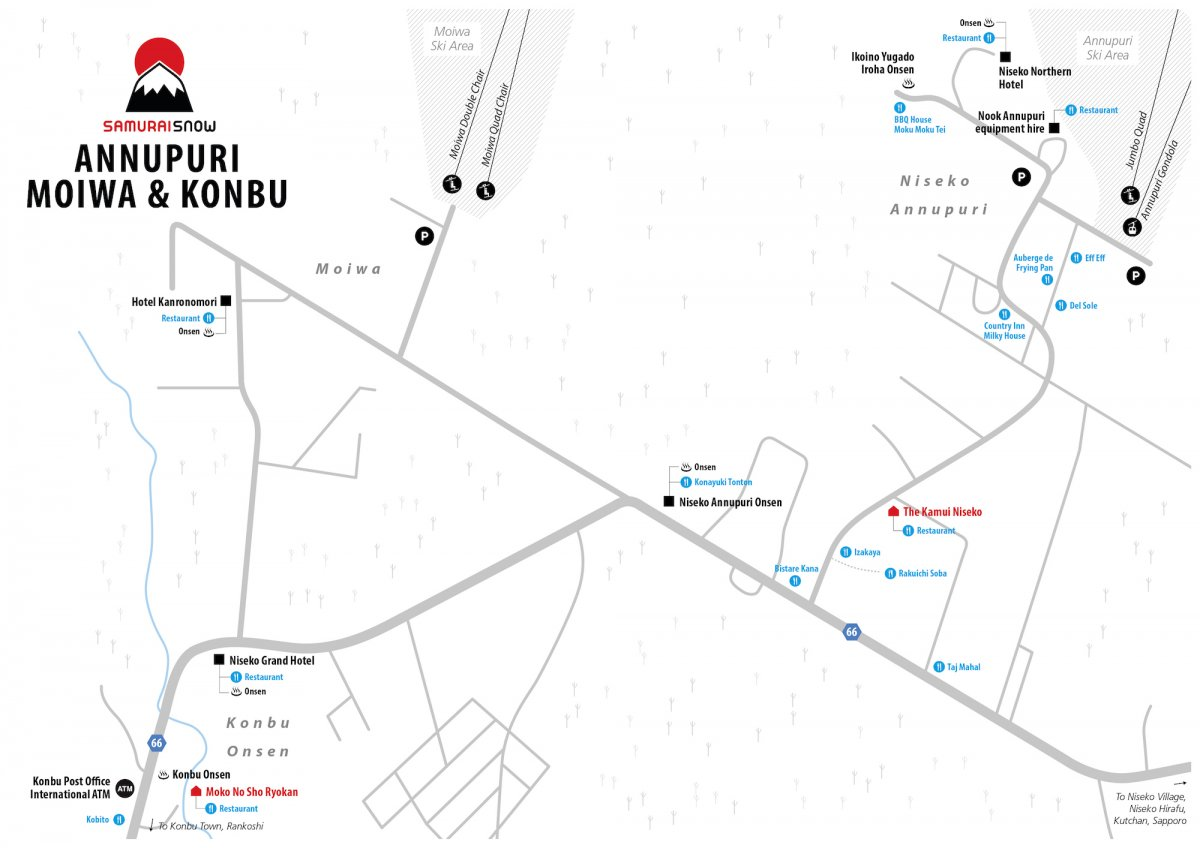 Niseko Annupuri Map