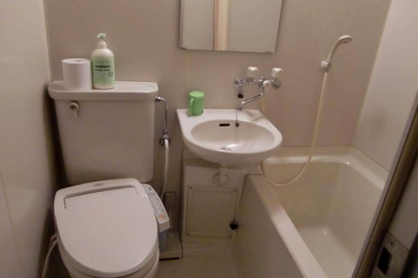 japanese toilet sink combo. General active tab  Location Info Akakura Park Hotel Western Japanese Combination Room w